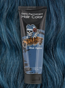 Suavecita Semi-permanent Hair Dye - Blue Agave