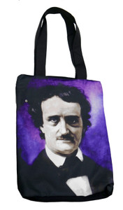 Edgar Allan Poe Shoulder Tote Bag