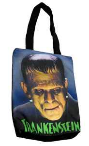 Technicolor Frankenstein Shoulder Tote Bag
