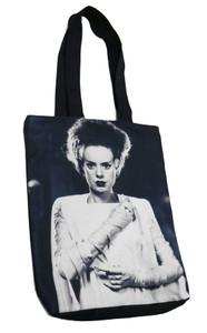 Bride of Frankenstein Torso Shoulder Tote Bag