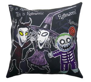 This Is Halloween - Boogie Man Henchmen Throw Pillow