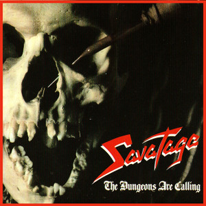 "Savatage - The Dungeons Are Calling  4x4"" Color Patch"