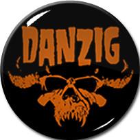 """Danzig - Logo 1"""" Pin"""