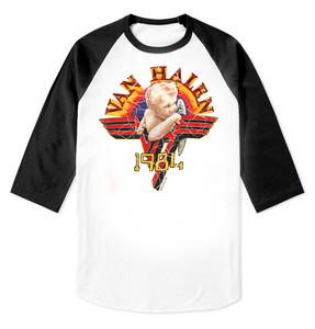 Van Halen - 1984 Raglan Baseball 3/4 Sleeve T-Shirt
