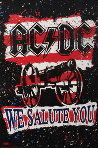 """AC/DC - We Salute You 24x36"""" Poster"""