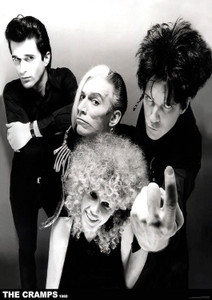 """The Cramps - Finger 1980 24x36"""" Poster"""