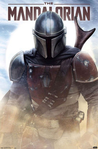 "Star Wars - The Mandalorian Battle 24x36"" Poster"