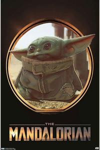 "Star Wars - The Mandalorian Portal 24x36"" Poster"