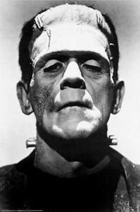 """Frankenstein 24x36"""" Poster"""
