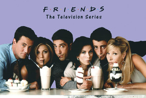 "Friends - Milkshakes 24x36"" Poster"