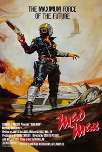 """Mad Max Movie 24x36"""" Poster"""