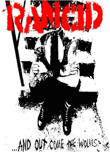 """Rancid - And Out Come the Wolves 24x36"""" Poster"""
