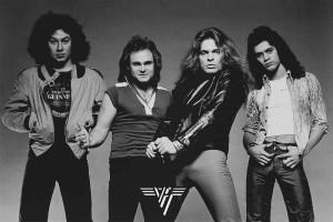 "Van Halen Black & White 24x36"" Poster"