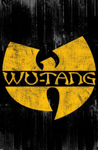 "Wu-Tang Logo 24x36"" Poster"