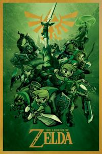 """The Legend of Zelda 24x36"""" Poster"""