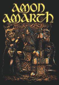 "Amon Amarth - Thor 30x43"" Poster Flag"