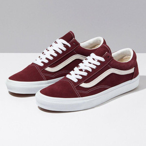 Vans - Old Skool Red Rumba True White