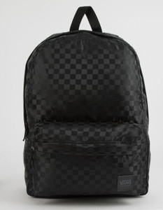 Vans Deana III Black Checker Backpack