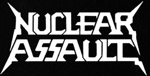 """Nuclear Assault - Logo 7x4"""" Printed Patch"""