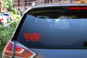 "Cannibal Corpse - Logo 6x3.5"" Vinyl Cut Sticker"