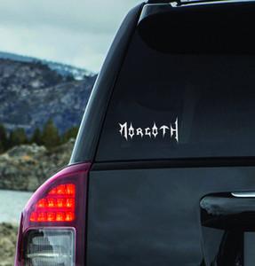 "Morgoth - Logo 6x3"" Vinyl Cut Sticker"