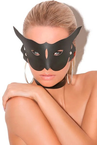 Leather Cat Mask
