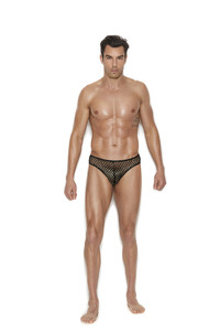 Men's  Fishnet Thong Underwear