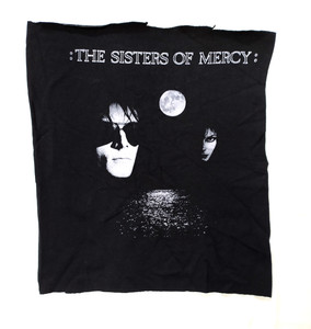 Sister of Mercy  Floodlands Test Backpatch