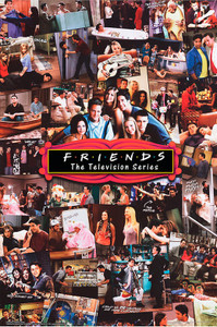 "Friends - Collage 24x36"" Poster"