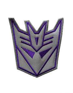 """Transformers - Decepticons 3x3"""" Embroidered Patch"""