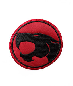 """Thundercats Logo 3x3"""" Embroidered Patch"""