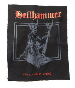 Hellhammer Apocaliptic Raids - Black Test Backpatch