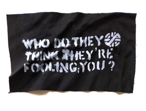 Crass - Persons Unknown Test Backpatch