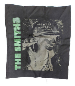 The Smiths Meat is Murder Black Test Backpatch