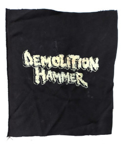 Demolition Hammer Test Backpatch