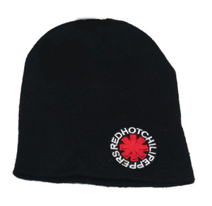 Red Hot Chilli Peppers -  Embroidered Knit Beanie