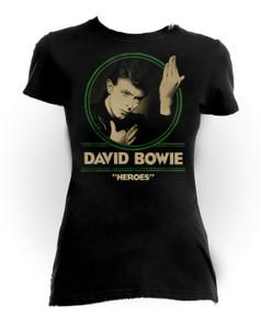 David Bowie - Heroes Girls T-Shirt
