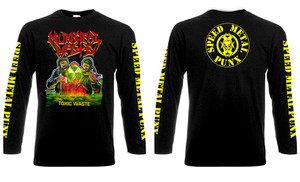 Municipal Waste - Toxic Waste Long Sleeve T-Shirt