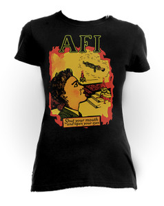 A.F.I. - Shut Your Mouth Girls T-Shirt