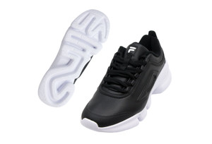 FILA - Black Disrunner with White Sole
