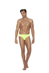 Men's Green Back Brief Thong