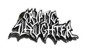 """Cryptic Slaughter  2"""" Logo Metal Badge"""