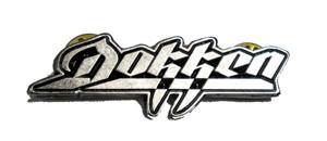 "Dokken  2"" Logo Metal Badge"