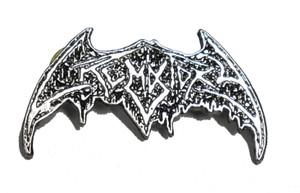 """Crematory  2"""" Logo Metal Badge"""