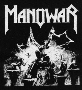 "Manowar Triumph of Steel 5x5"" Printed Patch"