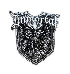 """Immortal - Monster 2"""" Metal Badge"""
