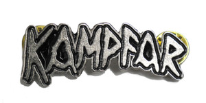 """Kampfar 2"""" Logo Metal Badge"""