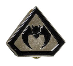 "Overkill 2"" Metal Badge"