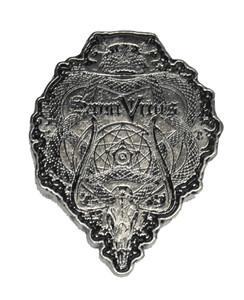 """Saint Vitus - Coat of Arms 2"""" Metal Badge"""