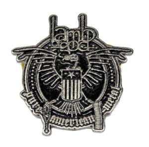 """Lamb of God - Pure American Metal 2"""" Metal Badge"""